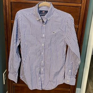 Vineyard Vines Men's Slim Fit Whale Shirt